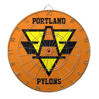 Pylons Hockey Team Dart Board