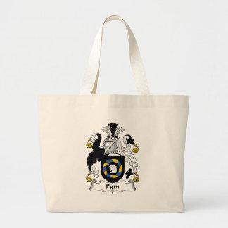 Pym Family Crest Jumbo Tote Bag