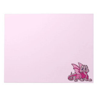 Pynky the dragon memo notepads