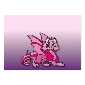 Pynky the dragon pack of chubby business cards