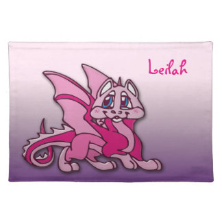 Pynky the dragon place mat