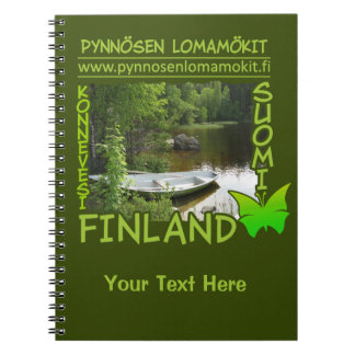 Pynnösen Lomamökit custom notebook