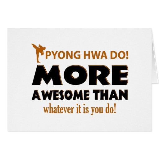 Pyong Hwa Do Martial arts gift items Card