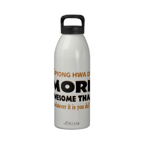 Pyong Hwa Do Martial arts gift items Reusable Water Bottles