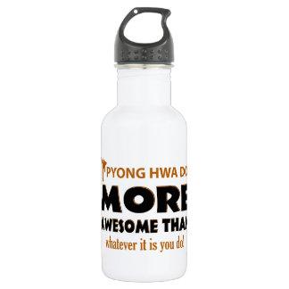 Pyong Hwa Do Martial arts items 18oz Water Bottle
