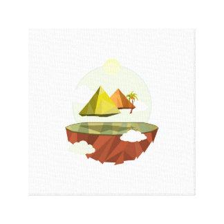 Pyra-Mid-Air Canvas Print