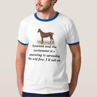 Pyramid and the excitement it s generating is spre T-Shirt