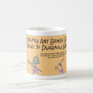 Pyramid Ant and the sugar cube Coffee Mug