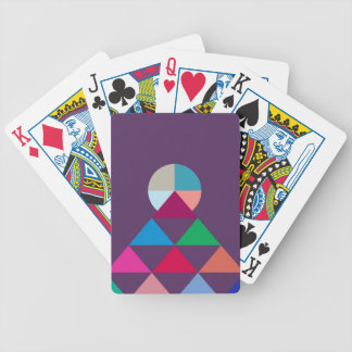 Pyramid Bicycle Playing Cards