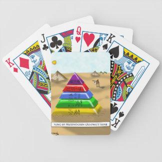 Pyramid Cartoon 9383 Poker Deck