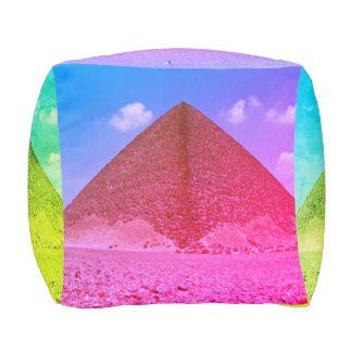 Pyramid Cube Pillow