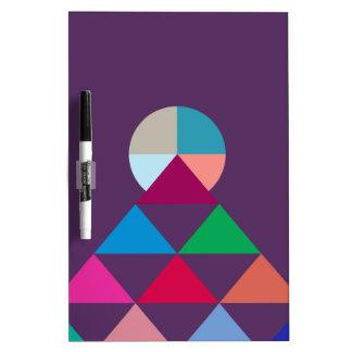 Pyramid Dry Erase Board