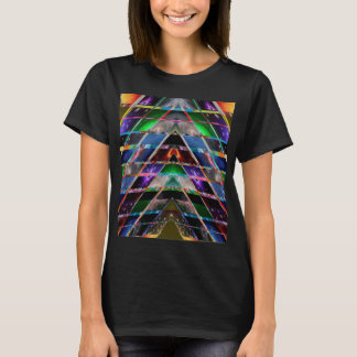 PYRAMID  - Enjoy Healing Energy Spectrum T-Shirt