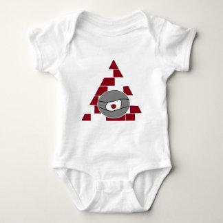 Pyramid Eye Baby Bodysuit