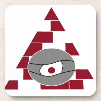 Pyramid Eye Coasters