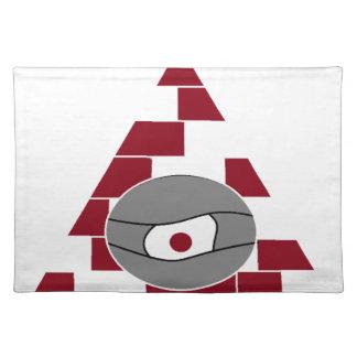 Pyramid Eye Placemat