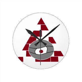 Pyramid Eye Wall Clock