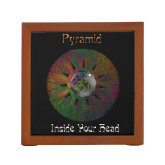 Pyramid - Inside Your Head Desk Organizer