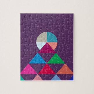 Pyramid Jigsaw Puzzle