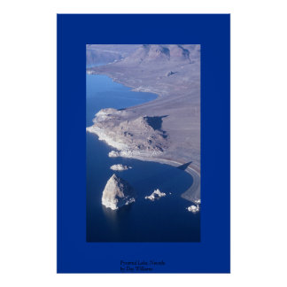 Pyramid Lake, Nevada Poster