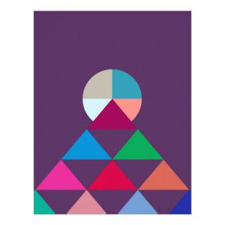 Pyramid Letterhead Design