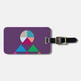 Pyramid Luggage Tag