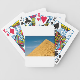 Pyramid of Khafre (Chephren), Giza Bicycle Playing Cards