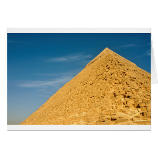 Pyramid of Khafre (Chephren), Giza Card
