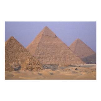 Pyramid of Menkaure Mycerinus), Pyramid of Poster