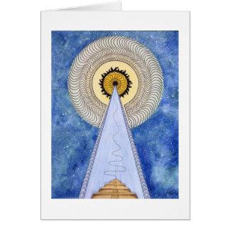 Pyramid of the Sun Card