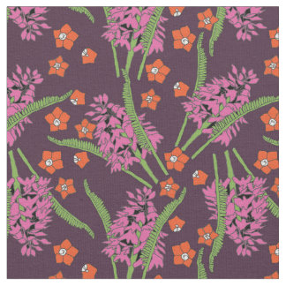 Pyramid Orchid Pattern 2 Fabric