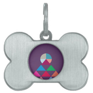 Pyramid Pet Tags