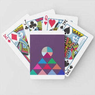Pyramid Poker Deck