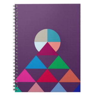 Pyramid Spiral Notebook