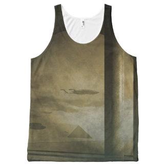 Pyramid Visitors All-Over-Print Tank Top
