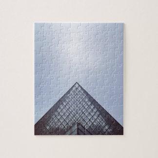 Pyramide Louvre Paris Jigsaw Puzzle