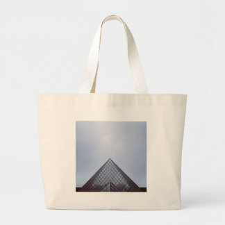 Pyramide Louvre Paris Large Tote Bag