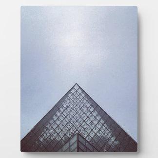Pyramide Louvre Paris Plaque