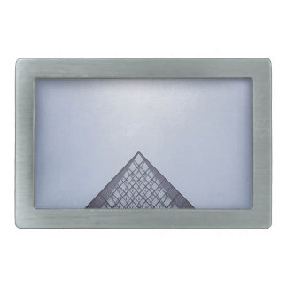 Pyramide Louvre Paris Rectangular Belt Buckles