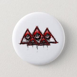 Pyramids 2 Inch Round Button