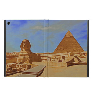 Pyramids and the Sphinx iPad Air Covers