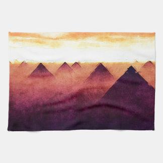 Pyramids At Sunrise Kitchen Towel