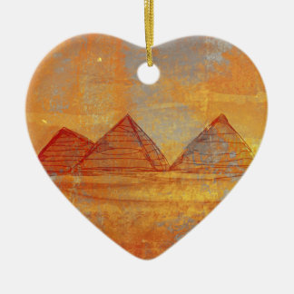 Pyramids Giza Decoration