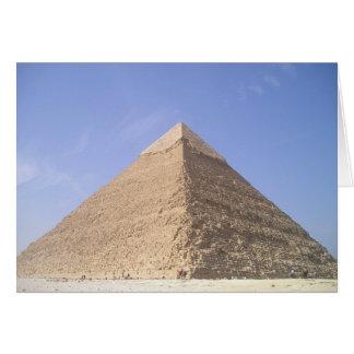 Pyramids of Egypt Blank Card