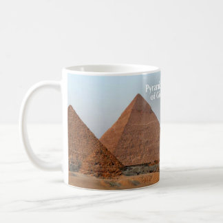 Pyramids of Giza Historical Mug