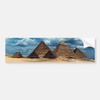 Pyramids of Gizeh Bumper Sticker