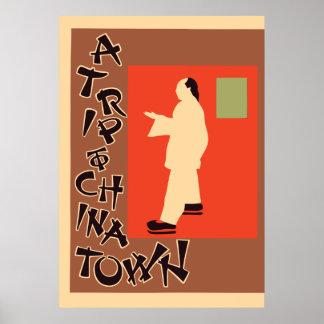 Pyrde & Nicholson A Trip To Chinatown Poster