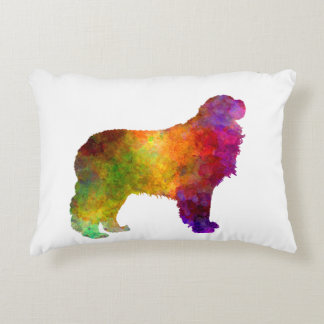 Pyrenean Ma in watercolor.png Accent Pillow