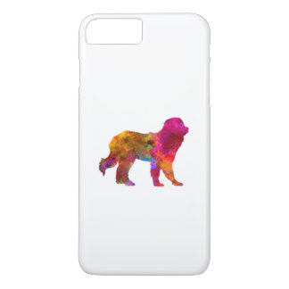 Pyrenean Mountain Dog in watercolor iPhone 7 Plus Case