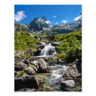 Pyrénées Stream Photo Print